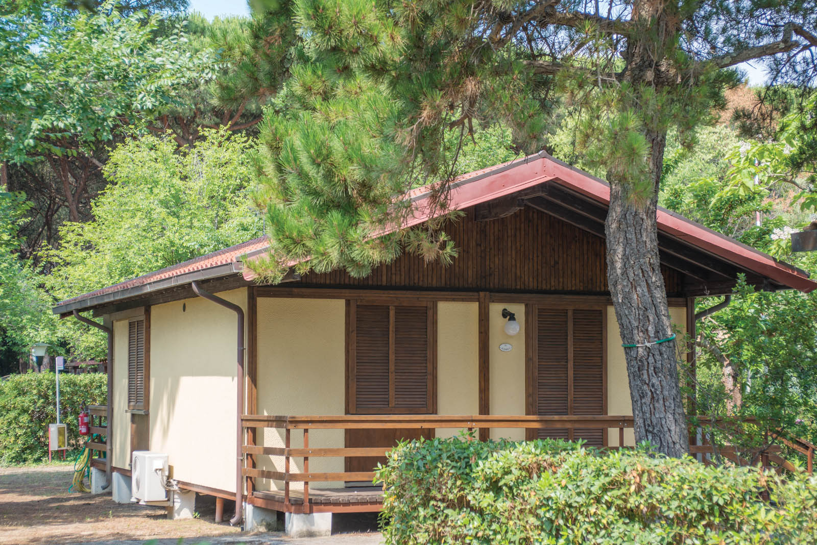 bungalow, camping tuscany